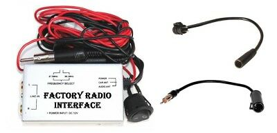 Factory Radio RCA AUX Input Adapter Audio Auxiliary Source fits Nissan Infiniti  - Nissan Auxiliary Input