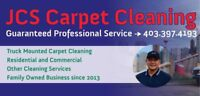 AFFORDABLE TRUCK-MOUNTED STEAM CARPET CLEAN! 403-397-4193