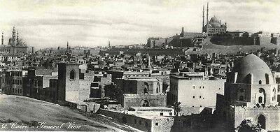 LEHNERT & LANDROCK - 2 ANSICHTEN von CAIRO NIL ÄGYPTEN 1935 - 2 Orig.Fotografien