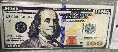 100 Dollar Design Bifold Mens Boys Wallet Printed Grant USA Money Cash Bill 100 Dollar Bill Design
