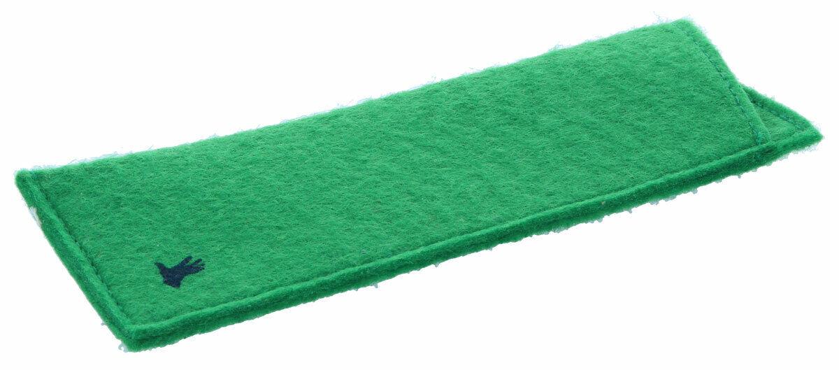 Einsteck-Brillenetui FIZZY | Etui aus weichem Filz in grün | NEU