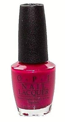 OPI Nail Polish Lacquer Enamel Varnish L54 California Raspberry RARE 15ml NEW!