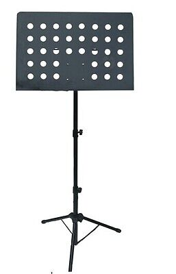 Heavy Duty Orchestral Conductor Sheet Music Stand Holder Tripod Base Foldable