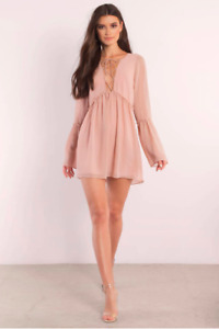 SELLING CUTE BLUSH PINK SUMMER DRESS FROM TOBI