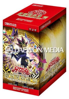 "Korean Ver Yugioh Cards /""Expert Edition Volume Vol.3/"" Booster Box HGP3-KR"