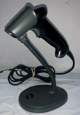 Honeywell Hyperion 1300g Barcode Scanner Usb With Stand Tested Working
