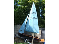 Enterprise Sailing Dinghy E21363 complete and ready to go