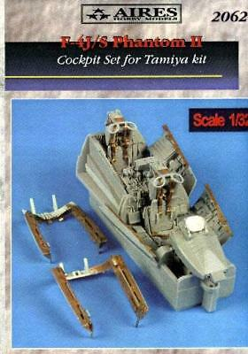 Aires 1/32 F-4J/S Phantom cockpit set for Tamiya kit 2062