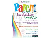Parent and Toddler Squash at Racquets Fitness Centre in Thame