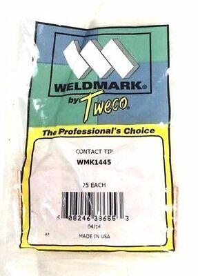 Tweco .045 14-45 Mig Welding Contact Tip 25pk