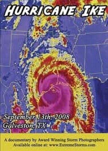 Hurricane IKE Documentary DVD, Documentary, RARE Galveston,Texas FREE SHIP - $66.00