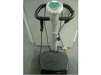 Upright Vibropower plate exerciser machine
