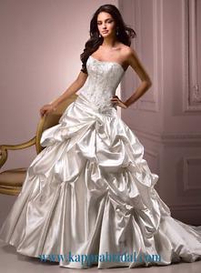 Maggie sottero diamond white wedding dress