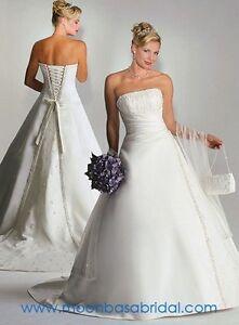MAGGIE SOTTERO Brilliant White Wedding Dress