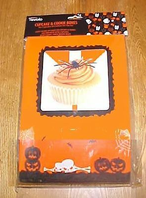 Tovolo Cupcake & Cookie Halloween Treat Boxes & Cupcake Papers NEW
