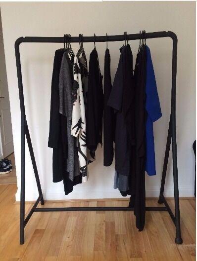 2 ikea turbo clothing racks
