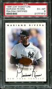 1996 Leaf Signature Mariano Rivera