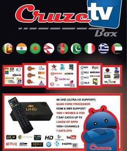 Cruze Tv Ultra HD real Hybrid Box Melbourne CBD Melbourne City Preview