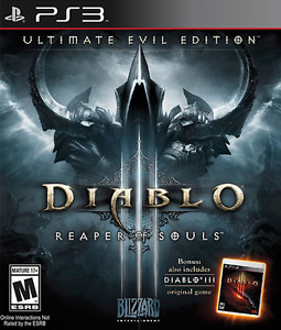 Lokking for Diablo 3 ultimate evil edition for ps3