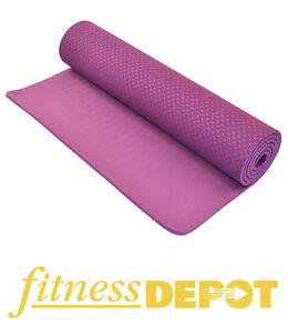 8mm Eco-Friendly TPE Yoga Mat, Purple YGMTP818361P