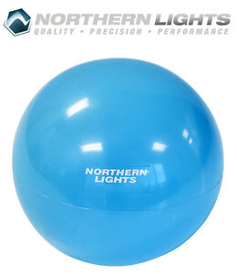 Northern Lights Weighted Pilates Ball, 4lbs MBWPILLB04