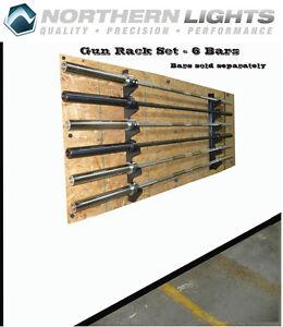 Gun Rack Set (Bar Holder) 6 Bars CBGUNRACK6