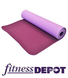 FITNESS DEPOT 5mm TPE Yoga Mat, Purple YGMTP518361P