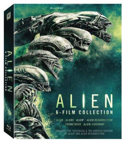 Alien - Alien: 6-Film Collection [New Blu-ray] Boxed Set, Sealed New Region 1 US