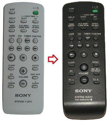 Audio-fernbedienung (Originale Sony System Audio Fernbedienung passend für RM-SC30 / RM SC30)