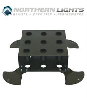NORTHERN LIGHTS Vertical 9 Olympic Bar Storage Rack SRBBOV9
