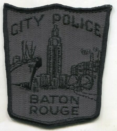 BATON ROUGE LOUISIANA CITY POLICE DEPARTMENT OLD CHEESE CLOTH  OBSOLETE  PATCH