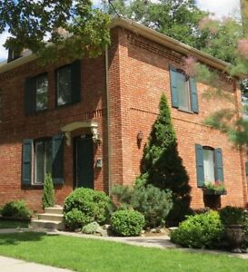 Old Walkerville Brownstone Home on Monmouth Road.  Ready Now!