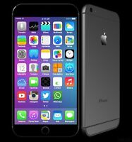 NEW neuf iphone 6 16gb GB bell virgin public mobile