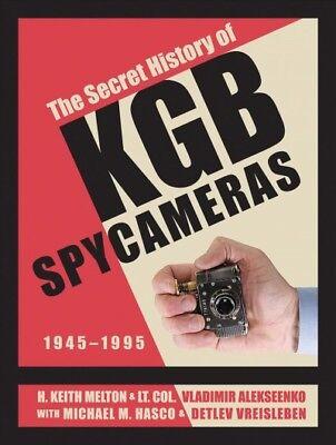 Secret History of KGB Spy Cameras : 1945-1995, Hardcover by