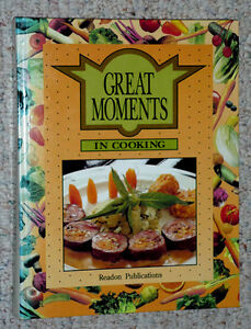 Great Moments in Cooking, hardcover, 480 pages, LotsPictures Cambridge Kitchener Area image 1