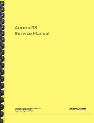 Alienware Aurora R5 SERVICE MANUAL