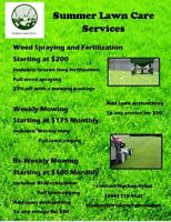 Summer Lawn Care by Student Lawn Pro
