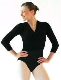 ROCH VALLEY BLACK BALLET CARDIGAN - ADULT SIZE 8-10 - BRAND NEW IN PACKAGING