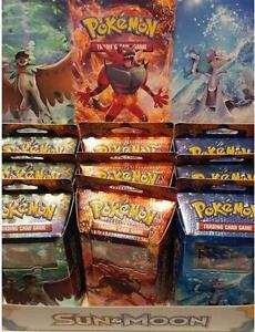 SALE!!! Unopened Pokeman Trading Card Sun & Moon Packages, Tins, Pins, TCG Boosteer Packs, EX Mega Box Now Available