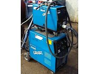 Orlikon 403 welder equipped with water cooling system