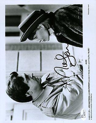 Mia Farrow Signed Jsa Certed 8X10 Photo Autograph