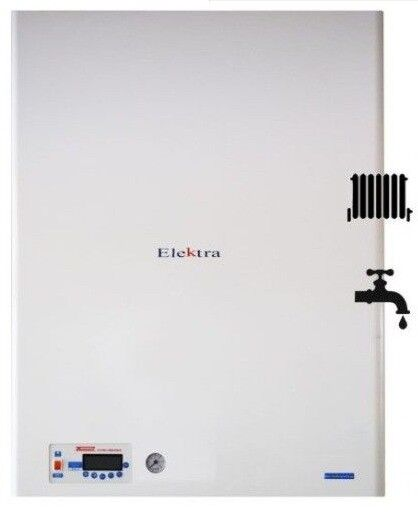 Elektra BP 12kW Electric Combi Boiler Central Heating and Domestic ...