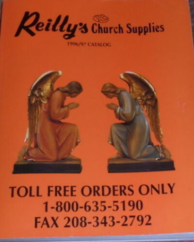 Church Supply Catalog Silver Chalice Candlestick Cross Crucifix Art Statue Sale