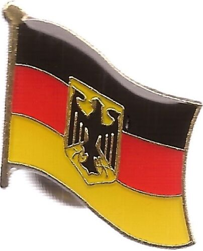 LOT OF 12 Germany Flag Lapel Pins - Germany Eagle Flag Pin