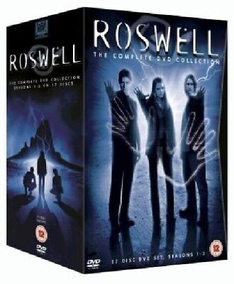 ROSWELL 1-3 (1999-2002): COMPLETE Original TV Seasons Series NEW Rg2 DVD not US