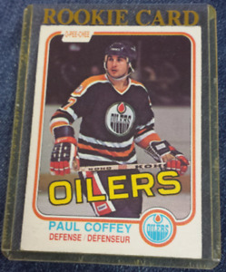 Paul Coffey 1981-82 OPC Rookie Card