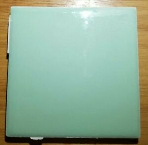 Vintage Seafoam Green Ceramic Tile Usa 4 1