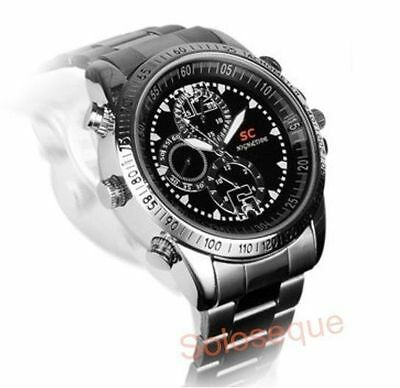 CLOCK CAMARA SPY HIDDEN 8GB MICROPHONE WATCH CAMERA SPY USB VIDEO PHOTOS HD CAM