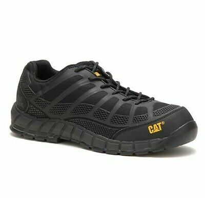 Cat Caterpillar P90284 Mens Streamline Composite Toe Black Footwear Work Shoes