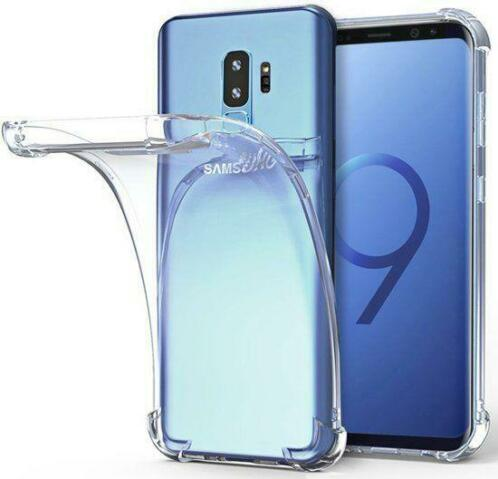 Samsung Galaxy S9+ (Plus) Transparent Anti-Burst Hoesje / S